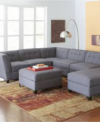microfiber recliner sectional sofa couch chaise l shaped couch with chaise macys roxanne sectional