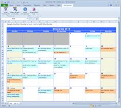 Excel Calendar Schedule Wincalendar Excel Calendar Creator With Holidays