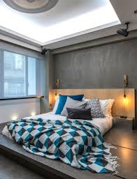 High Tech Bedroom Hong Kong Cramped Flat Converted In A Eco High Tech Rooftop Retreat