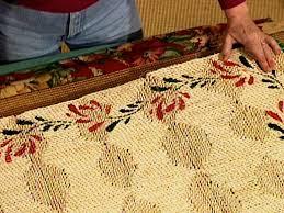Fabric Rug Diy How To Make A Fabric Rug Border How Tos Diy