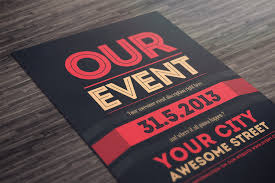 Flyer Backgrounds Psd 50 Awesome Flyer Templates For Your Next Event