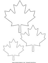Small Picture Maple leaf printable template maple leaf template coloring pages