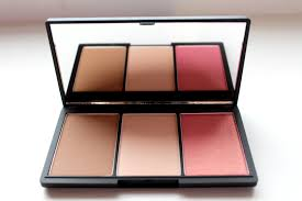 sleek makeup face form contour blush palette light 10