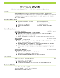 Google Docs Resume Template 2015 Free Google Resumes Builder