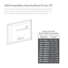 Vesa Pattern Magnificent TV Wall Mount Bracket 48 48 Inch Full Motion Articulating