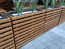 Planter Box Divider Breakout Areas Seating Options Pinterest
