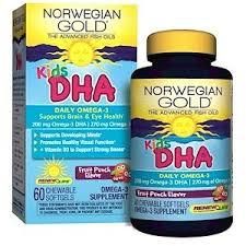 Renew Life, <b>Norwegian Gold</b>, <b>Kids</b> DHA, Fruit Punch Flavor, 60 ...