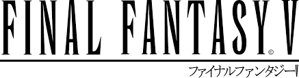 File:Final Fantasy V logo with japanese name.svg - Wikimedia Commons