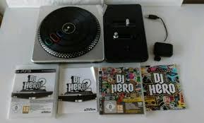 DJ HERO 1 Y 2, PS3, MÁS MESA DE MEZCLAS