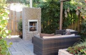 Small Picture Gabion Outdoor Fireplaces Garden landscaping rocks UK