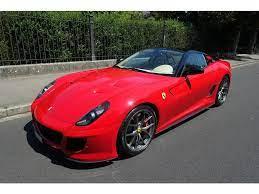 Approved Ferrari Aus Vorbesitz2011 Ferrari 599 Gto Zum Verkauf In Basel