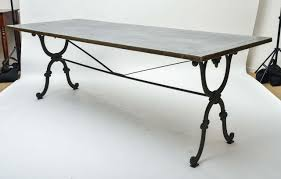 iron dining table base 19th century cast writing or with new 0 ege