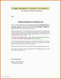 Download Job Completion Certificate Sample Fresh Experience