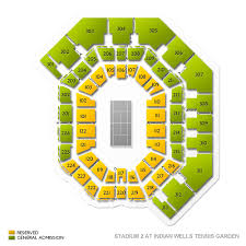 Indian Wells Tennis Center Seating Chart Bnp Paribas Open Tickets 2020 Tournament Buy At Ticketcity
