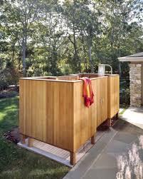 Sichtschutz Dusche Garten Popular Sichtschutz Holz Fenster
