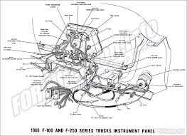 1966 ford truck wiring diagrams fordification info the '61 '66 1966 Ford F100 Dash Wiring Diagram 1966 f 100 & f 250 instrument panel Wiring Diagrams for 1966 Ford Pick Up V8