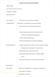 Functional Resume Template Word Stunning Functional Resume Template Microsoft Word Functional Resume Template