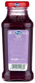 Купить <b>Нектар Yoga</b> Черника, 0.2 л по низкой цене с доставкой ...