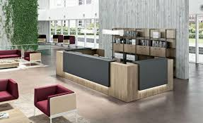Designer Office Space New Reception Desks Contemporary And Modern Office Furniture