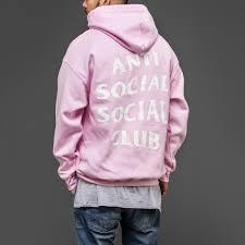 Anti Social Social Club Tee Size Chart Anti Social Social Club Pink Hoodie Womens Size Small