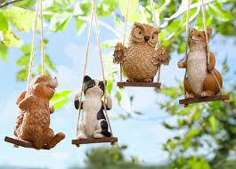 garden decorations. Animals-swing Garden Decorations