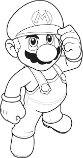 Small Picture Super Mario Coloring Pages 9 Coloring Kids