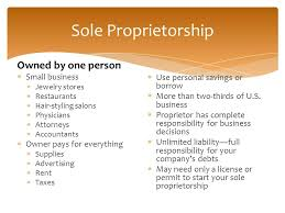 types of business ownerships ownership structures sole proprietorship partnership