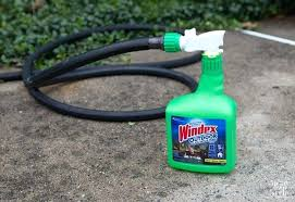 windex window cleaning to clean hard to reach high window simply attach outdoor to your garden