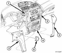 similiar 2006 chrysler pacifica dash diagram keywords pacifica hvac dash display order that part thanks for the answer