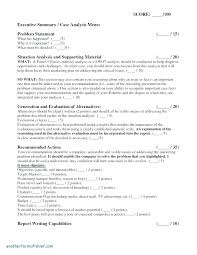 Template Executive Summary Sample Industry Analysis Report Format ...