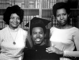 ben carson celebrates his graduation from yale university in 1973 with his mother sonya