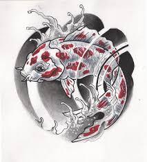 татуировки рыб эскизы 6 рыбы карпы тату эскизы фото тату