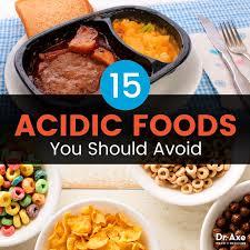 Acidic Foods Vs Alkaline Foods 15 Acidic Foods To Avoid