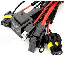 h7 xenon hid conversion kit relay wiring harness kit black h7 xenon hid conversion kit relay wiring harness kit black