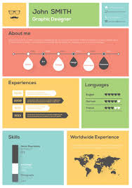 Infographic Resume Examples Infographic Resume 100 Online Builder Bronnikov Examples 59