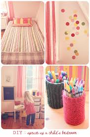 attractive image of girl homemade bedroom decor