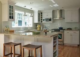 White Coastal Kitchen  Traditional  Kitchen  Boston  By Janet Coastal Kitchen Images