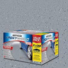 exterior quality concrete floor paint. gray 2-part high-gloss epoxy garage floor coating kit-251870 - the home depot exterior quality concrete paint n