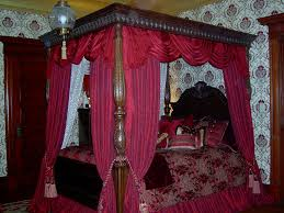 Victorian Bedroom Victorian Bedroom Canopy Workroom Intelligence Skirted And