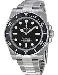 amazon com men s luxury watches clothing shoes jewelry rolex submariner black dial stainless steel automatic mens watch 114060