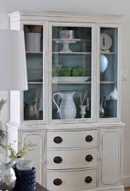 ideas china hutch decor pinterest: annie sloan old white and duck egg painted hutch https www