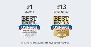 Inova Fairfax Hospital My Chart U S News World Report Names Inova Fairfax Medical Campus