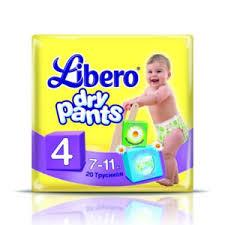 <b>Libero Dry</b> Pants Maxi <b>подгузники</b>-<b>трусики</b> 7-11 кг 20 шт купить по ...