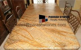stone table tops. Rainforest Gold Marble Table Top Stone Tops