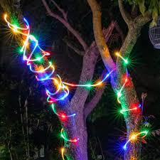 Led Color Tube Lights Tube Light Led Warm White Color Outdoor Light String Solar Copper Decorative Light Usb Hose Garden Garden Lantern