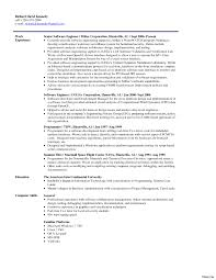 Resume Software Skills Software Engineering Resume Template Anne Firmware Education 71