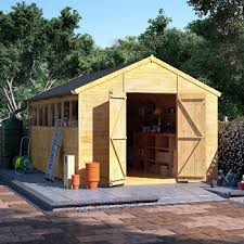 our high quality large superior garden sheds are hand build delivered installed as standard view our full range of premium garden sheds or design