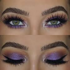 purple eye makeup look 16
