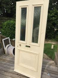 details about large victorian front door wood reclaimed period old antique c1870s glazed