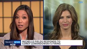Michelle Fields on Trump firing Corey Lewandowski - YouTube